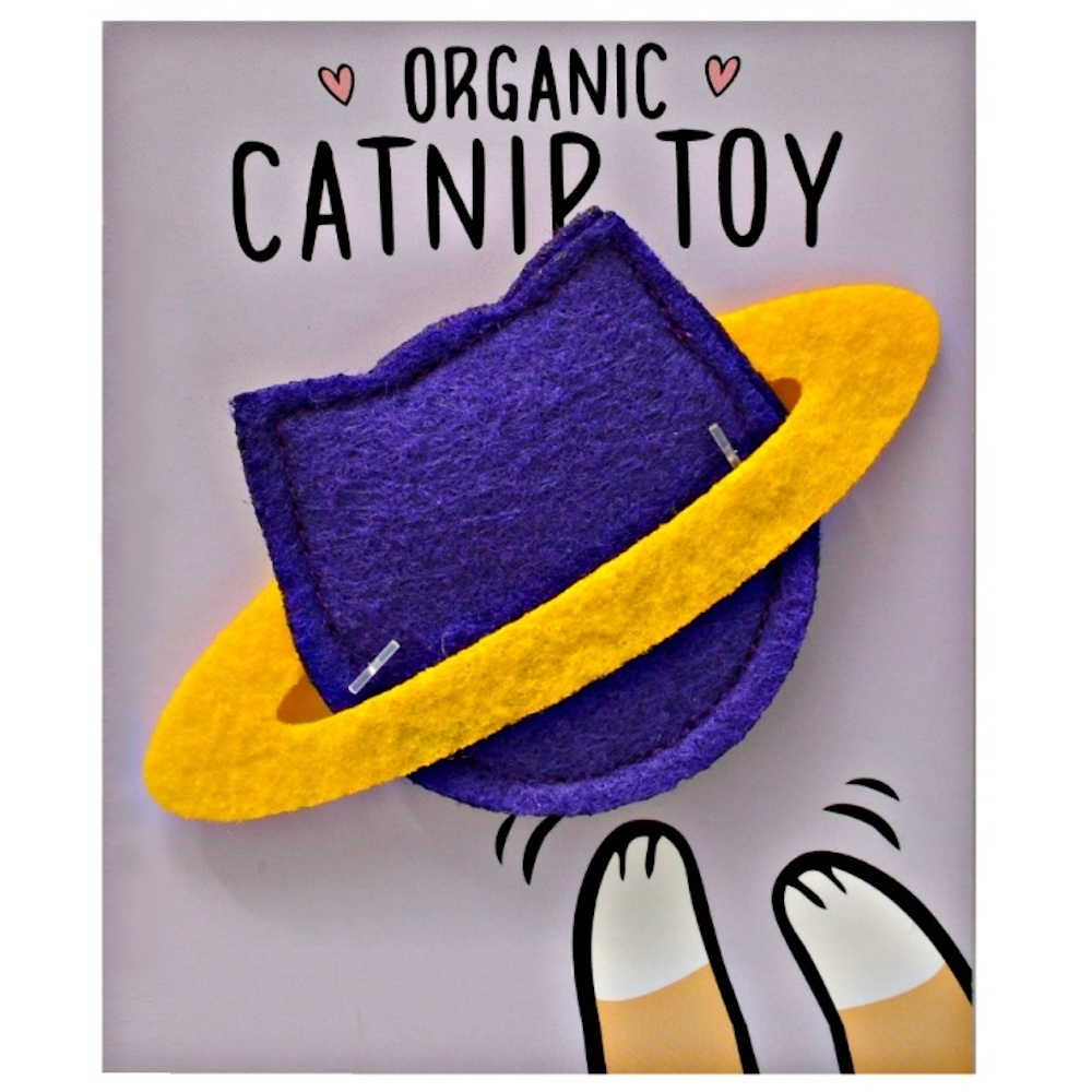 Cat-urn Organic Catnip Toy
