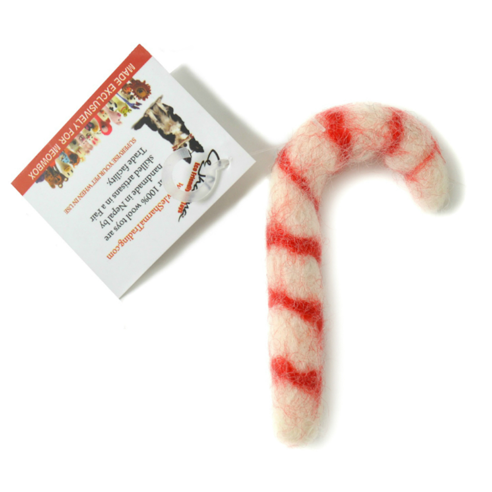 Wool Candy Cane