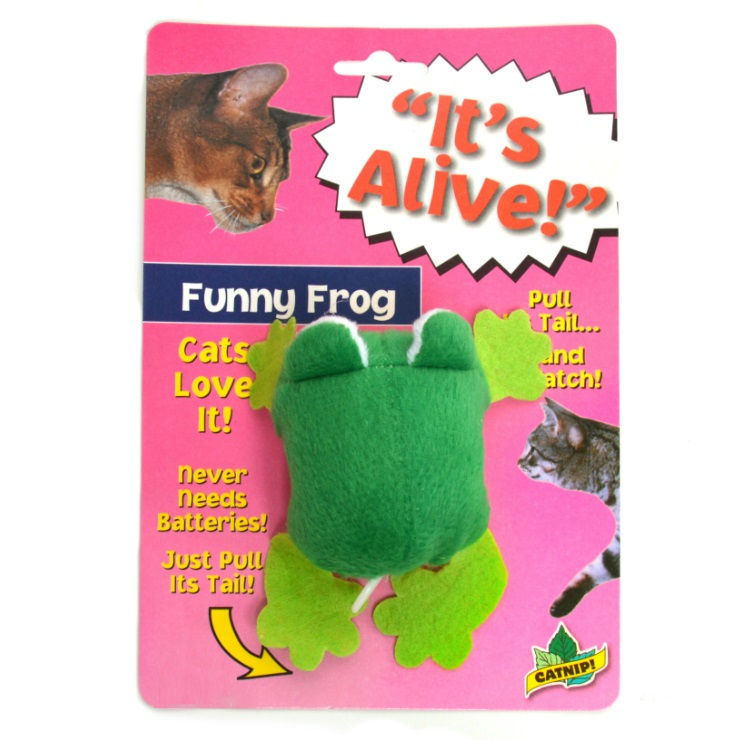It's Alive Funny Frog