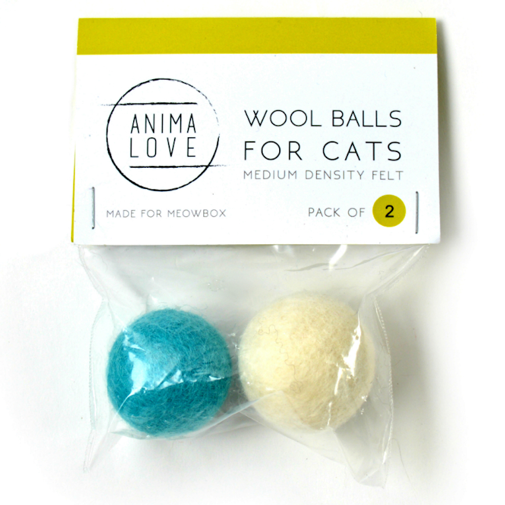 2-Pack Wool Balls