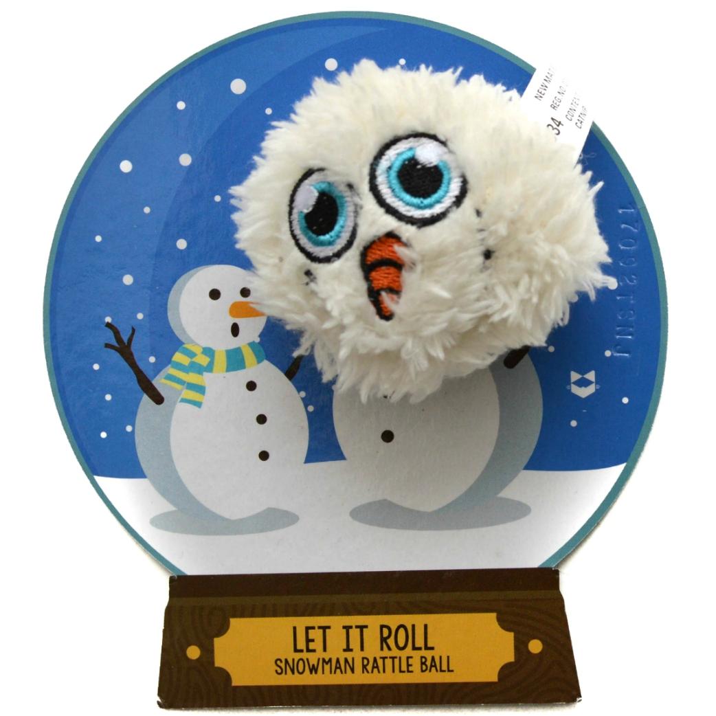 Snowman Rattle Ball