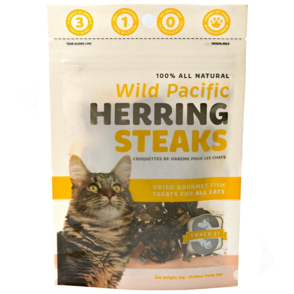 Wild Pacific Herring Steaks