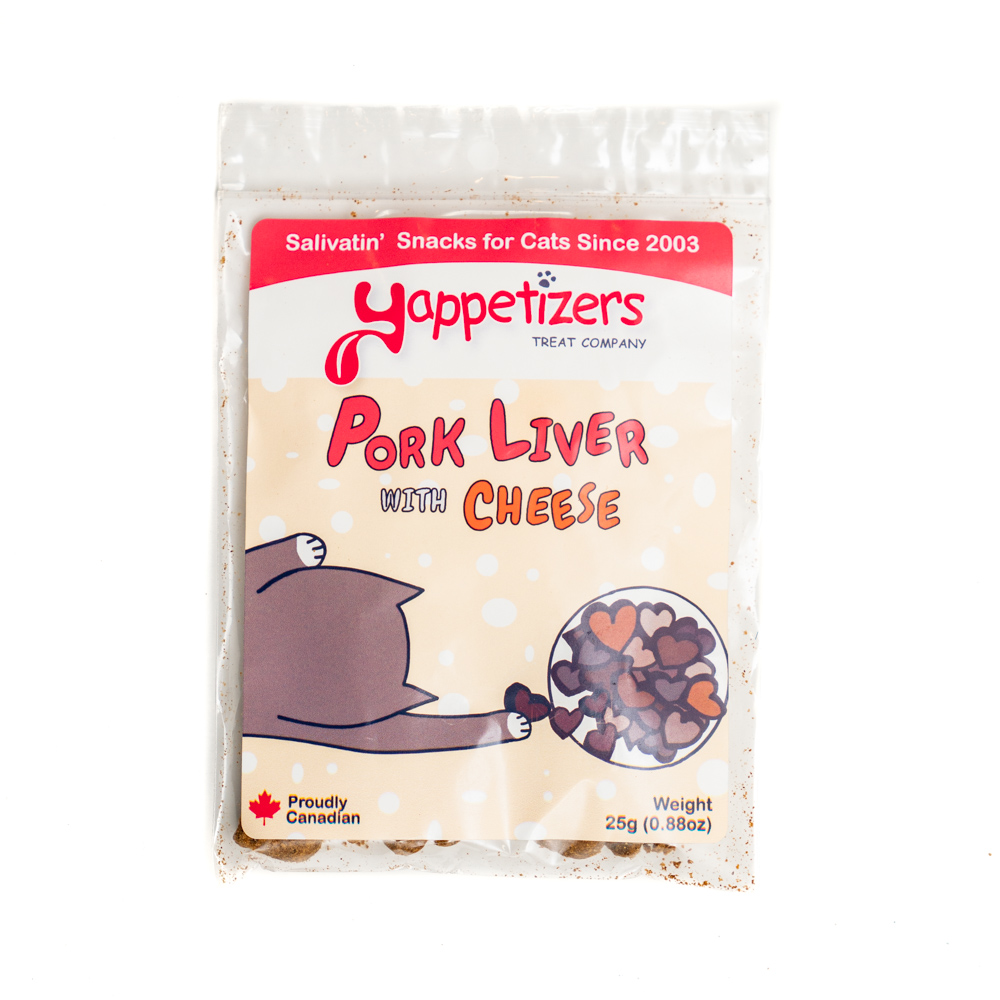 Pork Liver with Cheese Treats