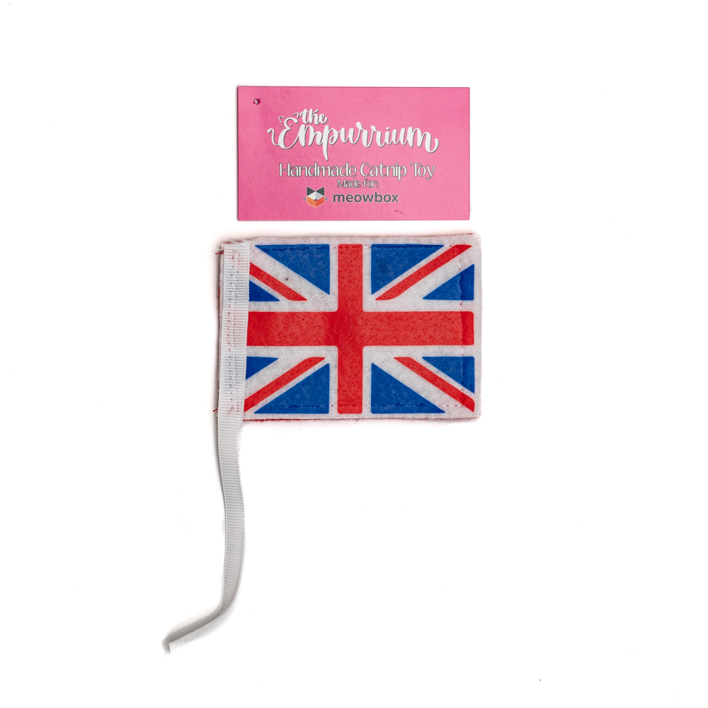Crinkly Catnip British Flag