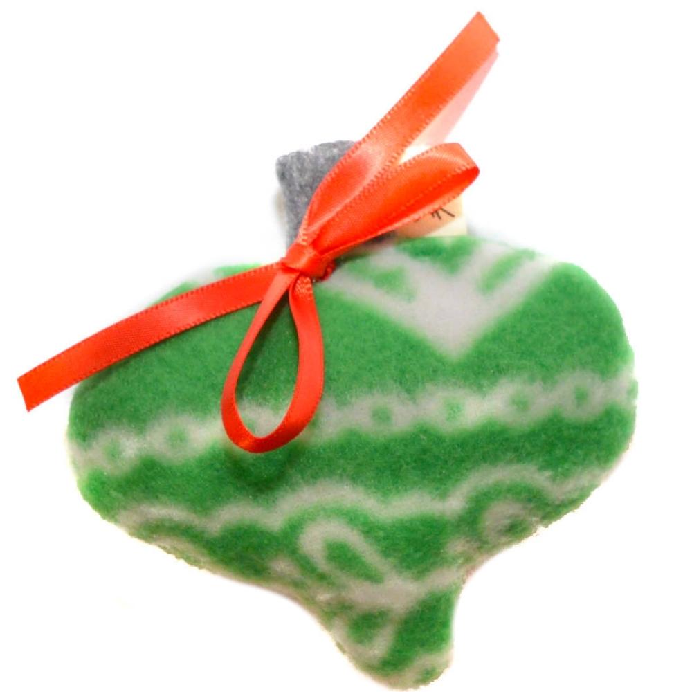Handmade Catnip Fleece Ornament