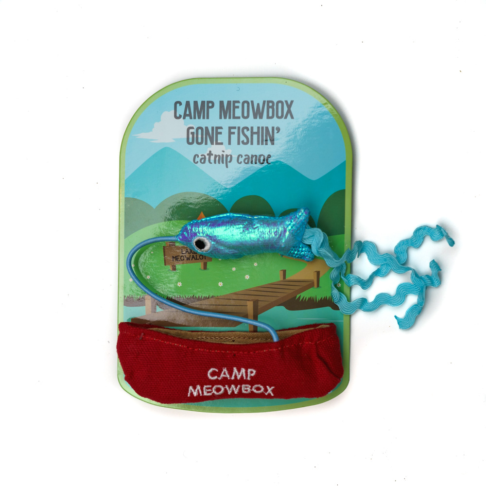 Camp meowbox Catnip Canoe