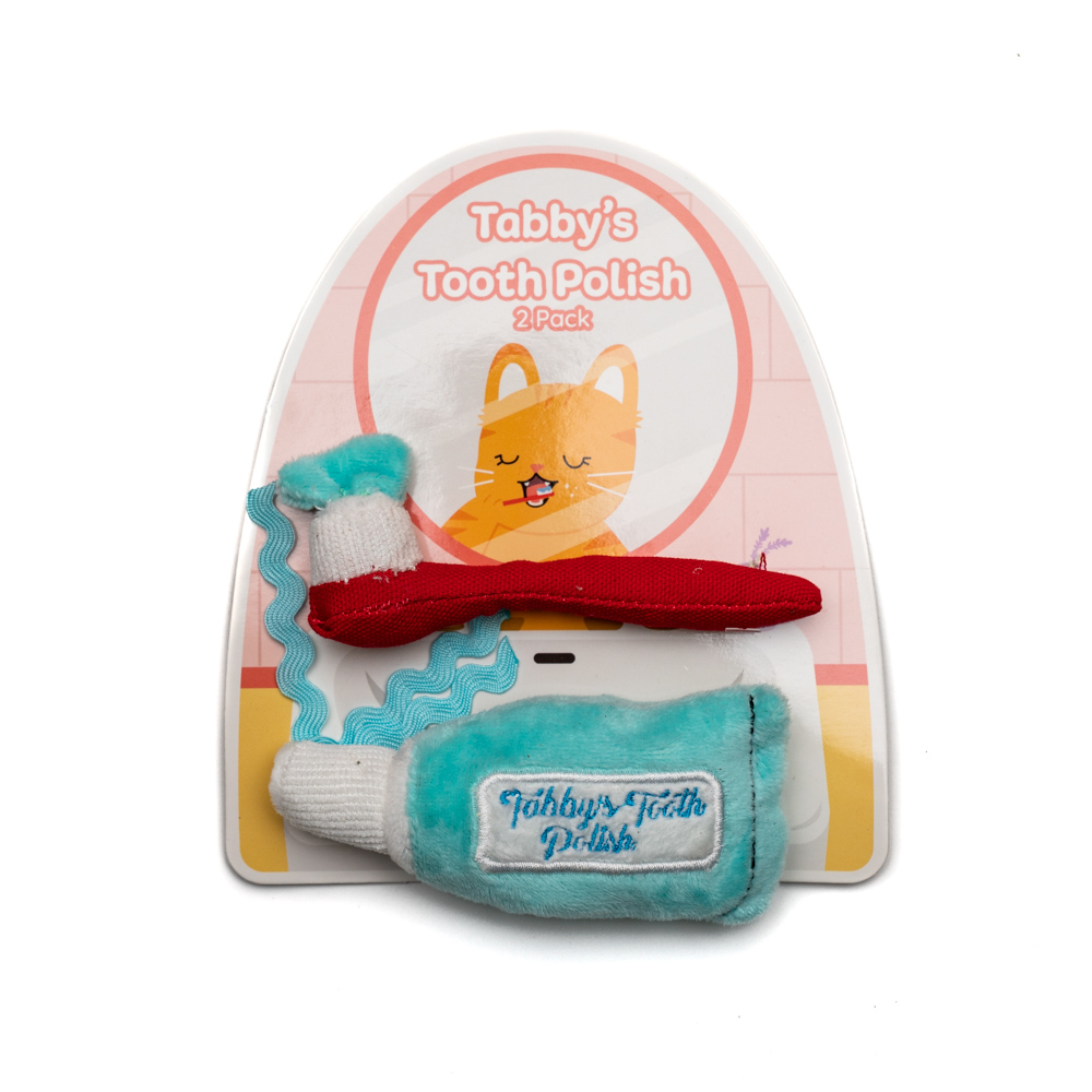 Tabby's Tooth Polish Toy Set