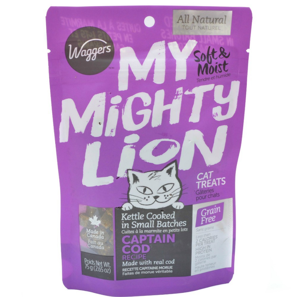 Mighty Lion Cod Treats