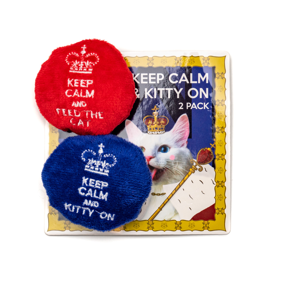 Keep Calm and Kitty On 2-Pack