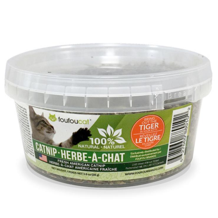 100% Natural Catnip Tub