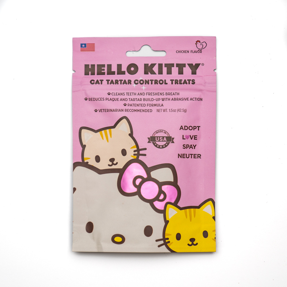 Hello Kitty Cat Tartar Control Treats