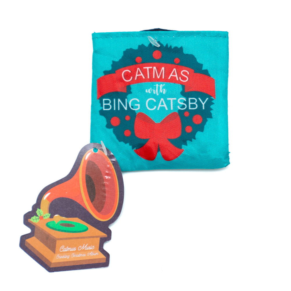 Bing Catsby 2-Piece Crinkly Record Toy