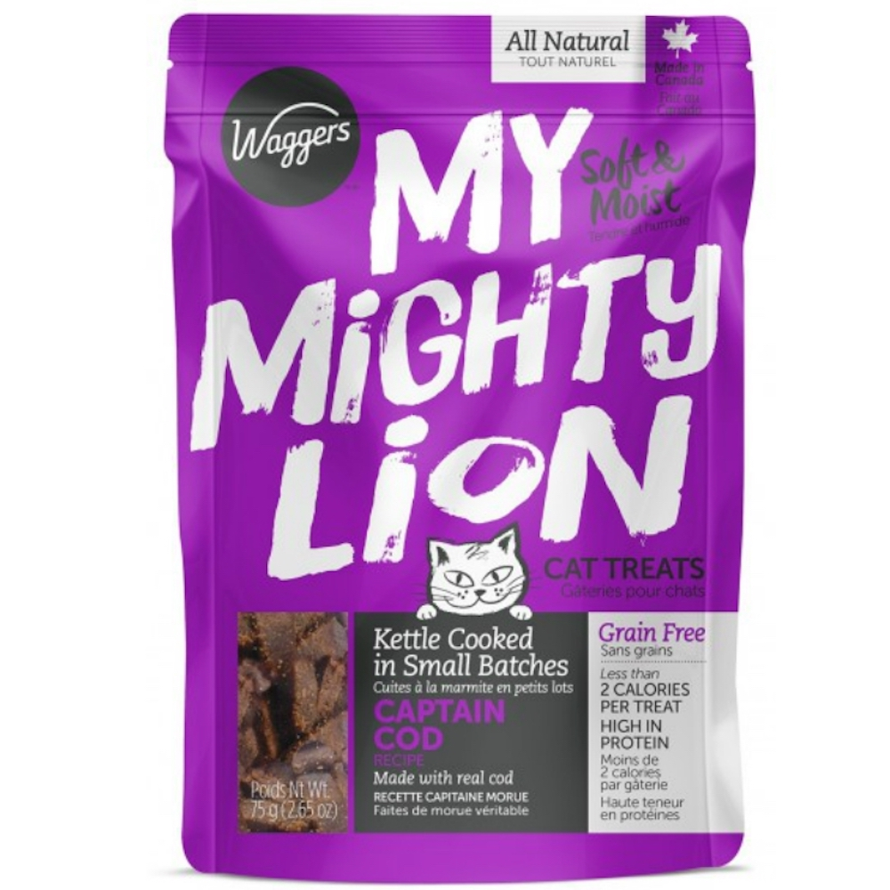 My Mighty Lion Captain Cod Treats