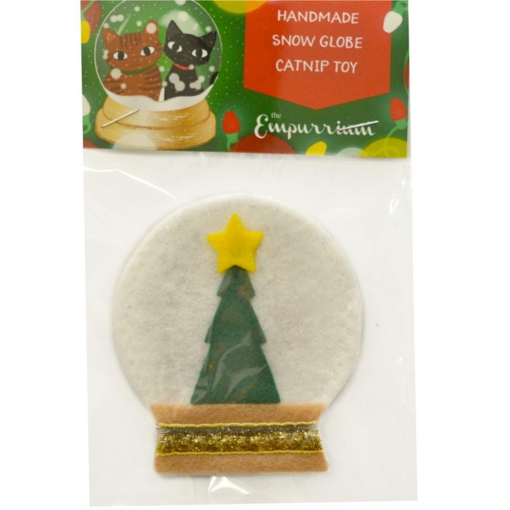 Handmade Snow Globe Catnip Toy