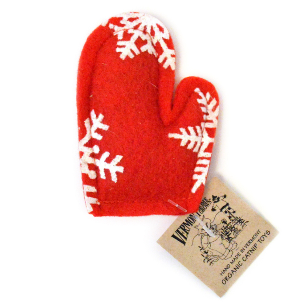 Holiday Mitten Toy