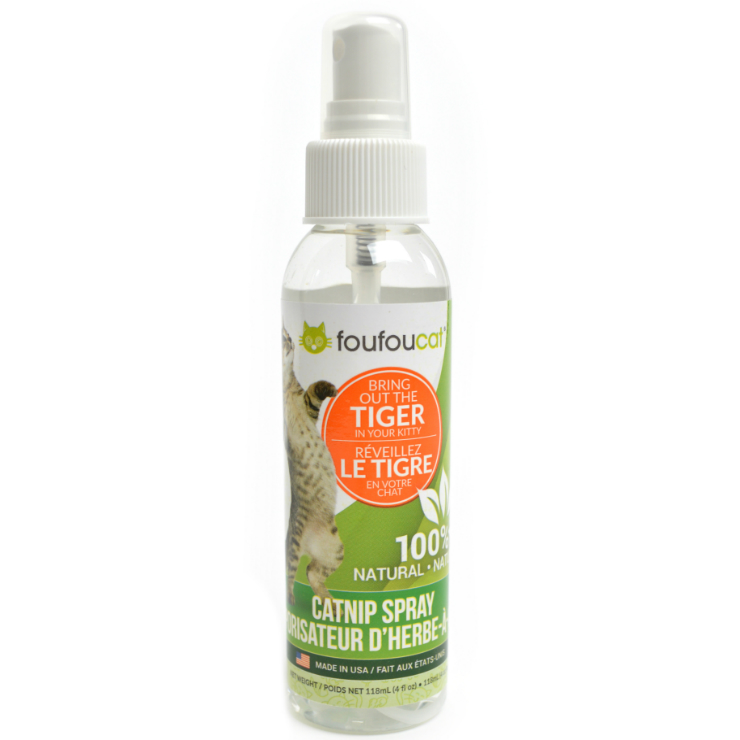 100% Natural Catnip Spray