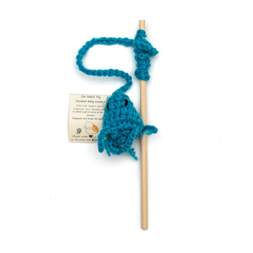 Crochet Octopus Wand