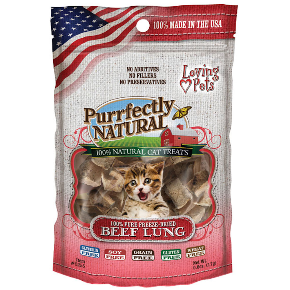 Freeze Dried Beef Lung Treats