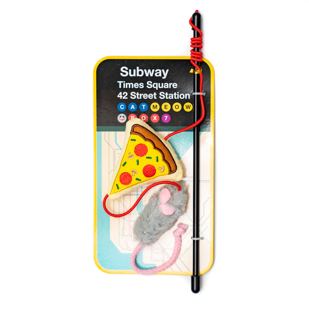Rat and Pizza Wand