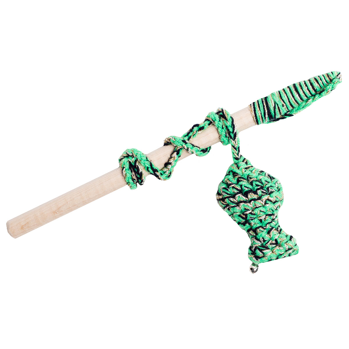 Crochet Cat Wand