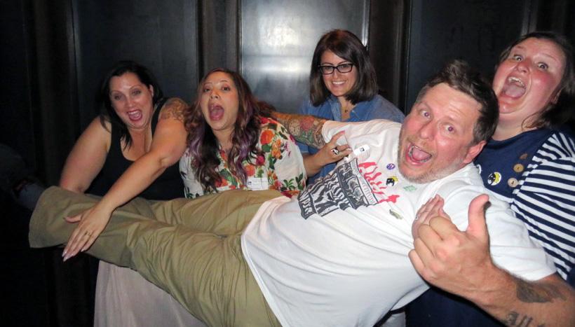 Angie (_porkchopthecat_), Eden (heresfancynfriends), Tina (tinaf78), Pete (impeccable_blah) & Rachael (seamus_n_angus)