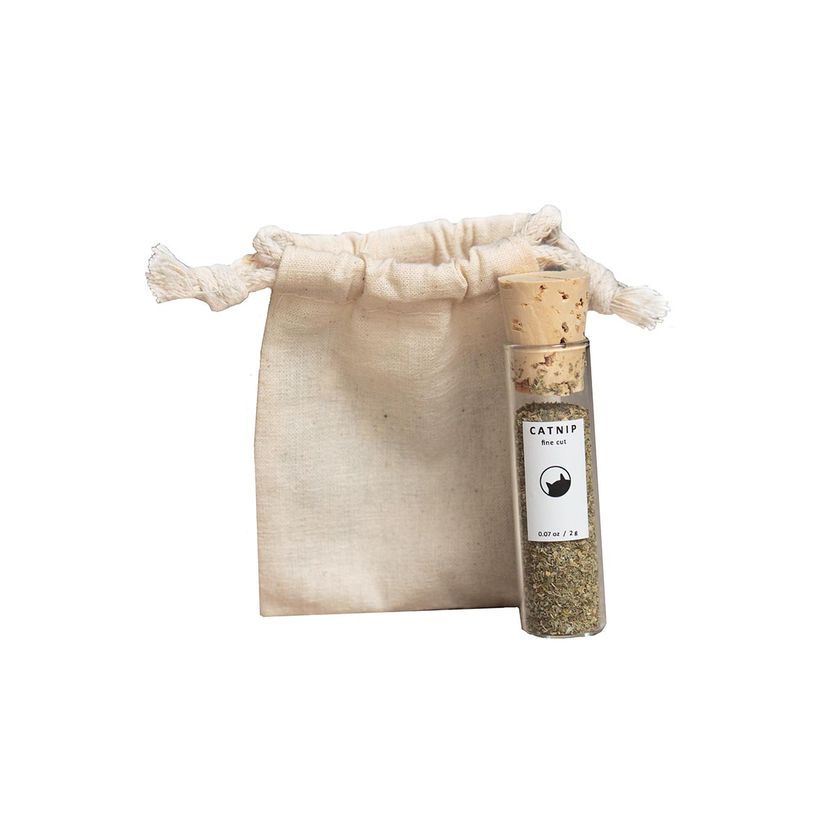 Catnip Vial and Pouch