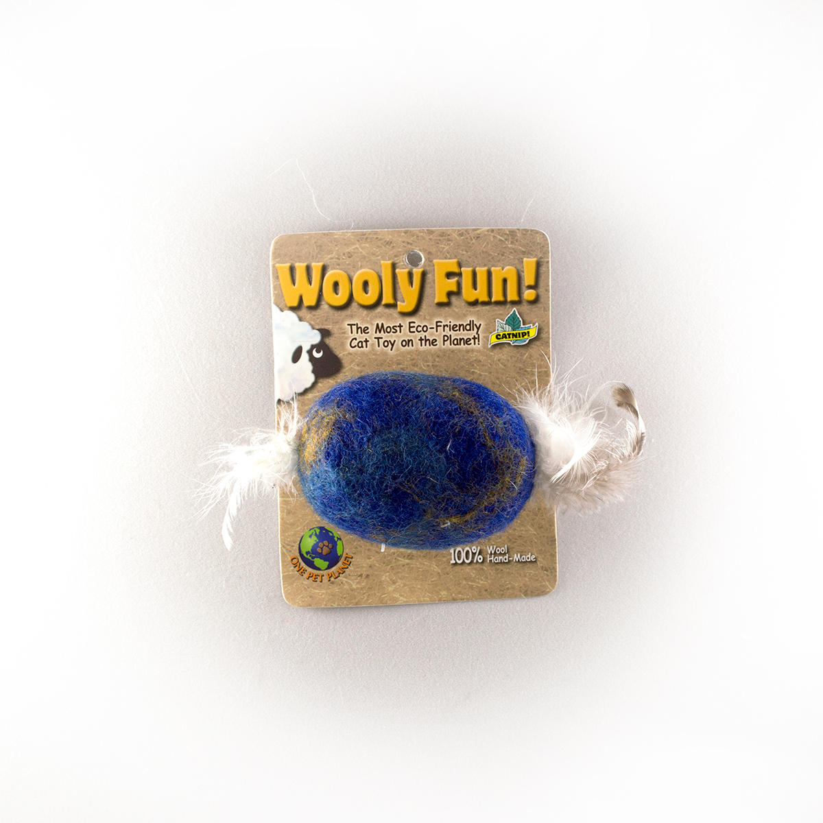 Wooly Fun Feather Barrel