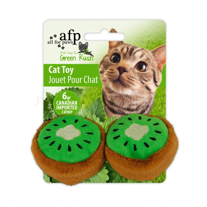 Green Rush Catnip Toy