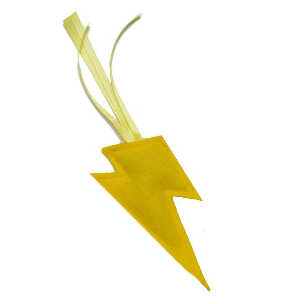 Handmade Lightening Bolt