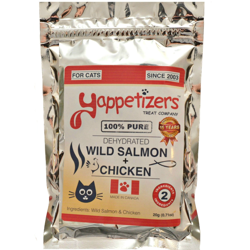 Wild Salmon and Chicken Treats