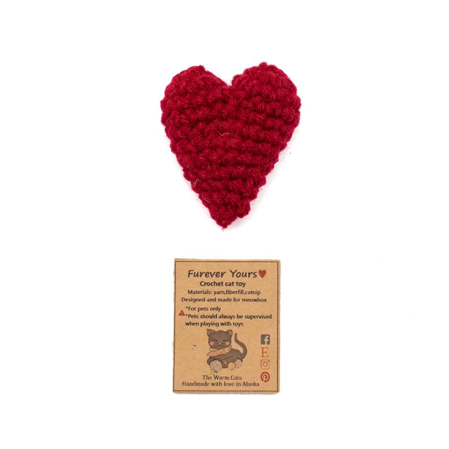 Furever Yours Crochet Heart