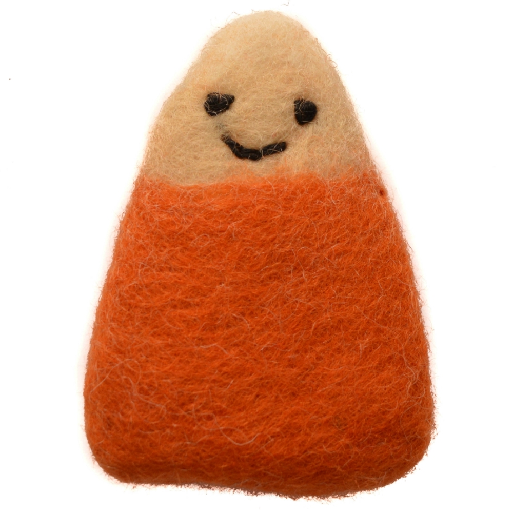 Wool Candy Corn