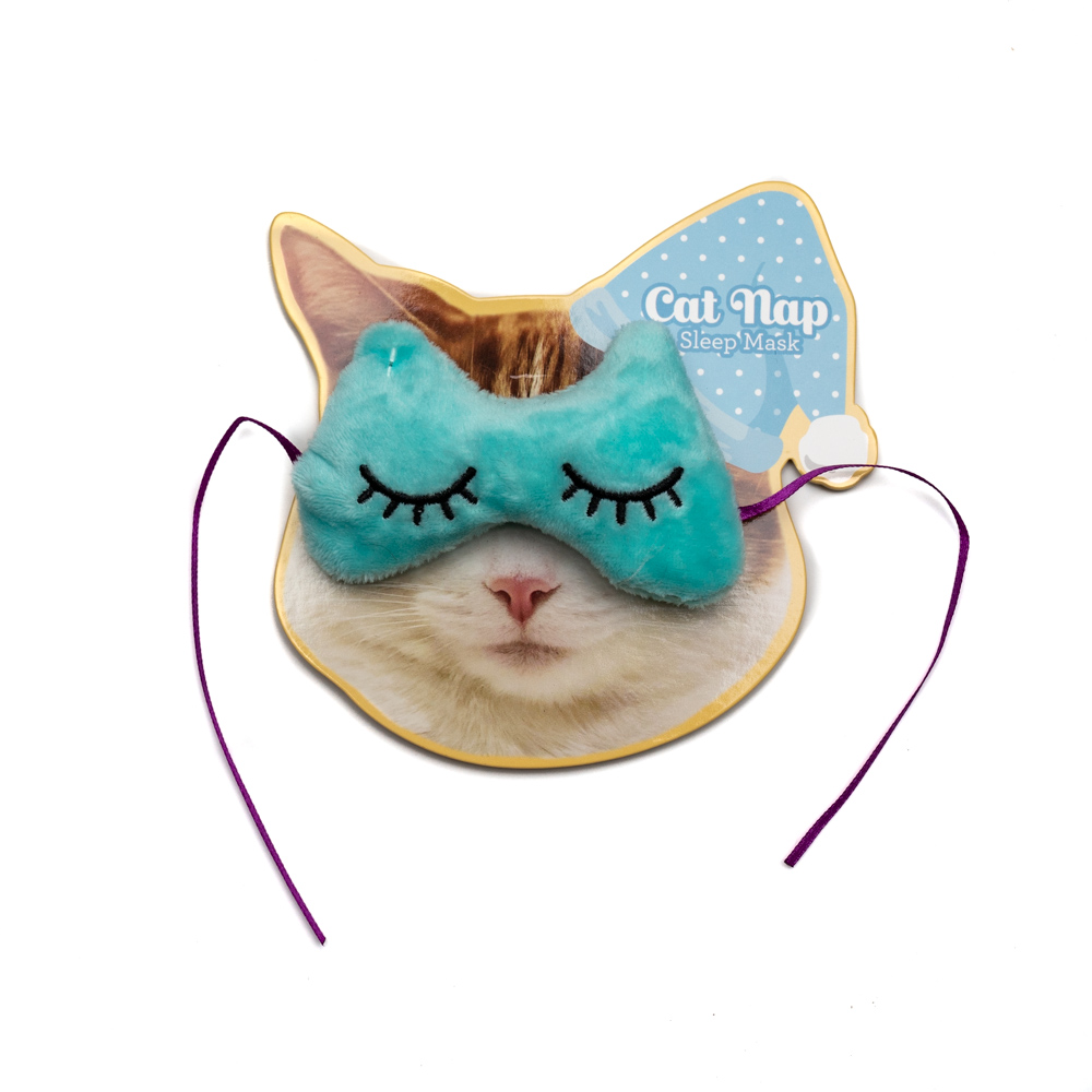 Cat Nap Sleep Mask Toy