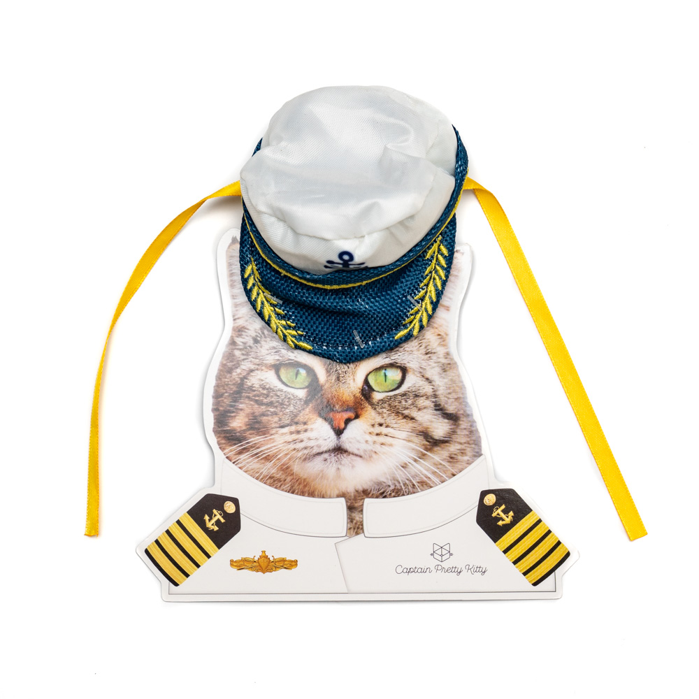 Pretty Kitty Captain Hat