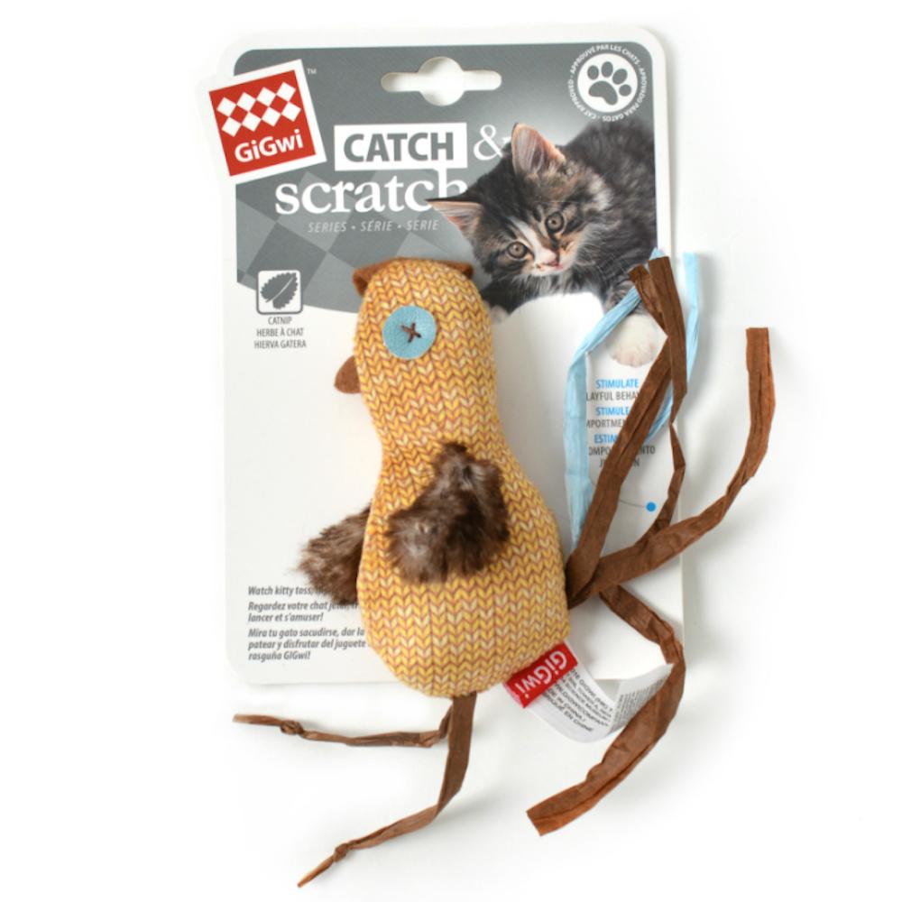 Catch and Scratch Chicken Toy