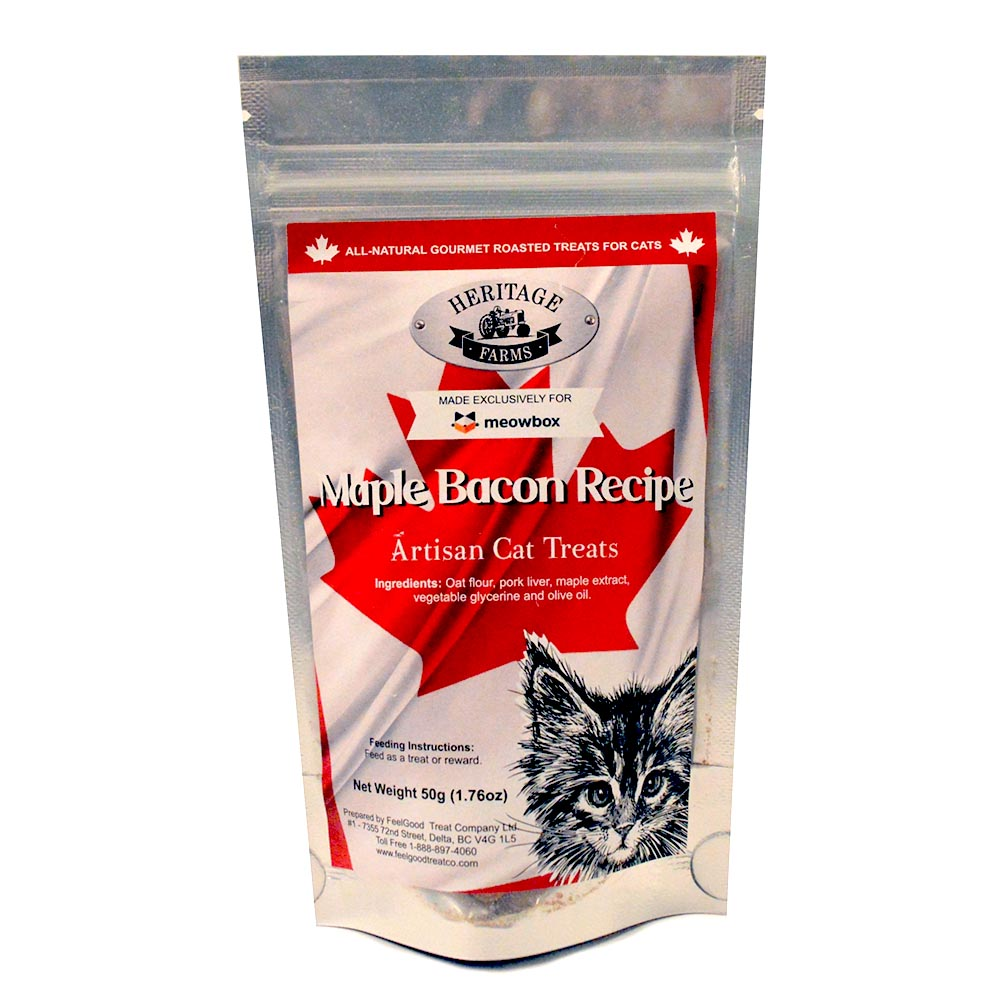 Heritage Farms Maple Bacon Recipe Artisan Cat Treats