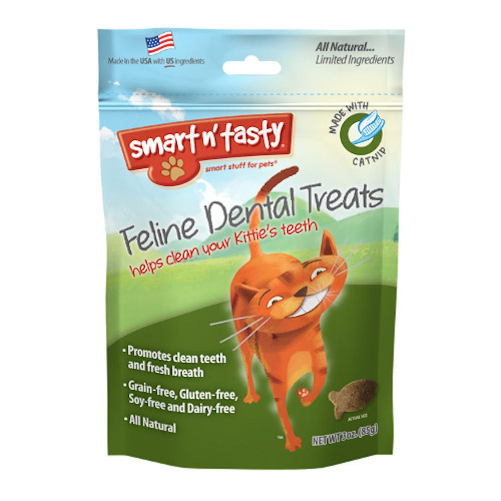 Feline Dental Treats with Catnip