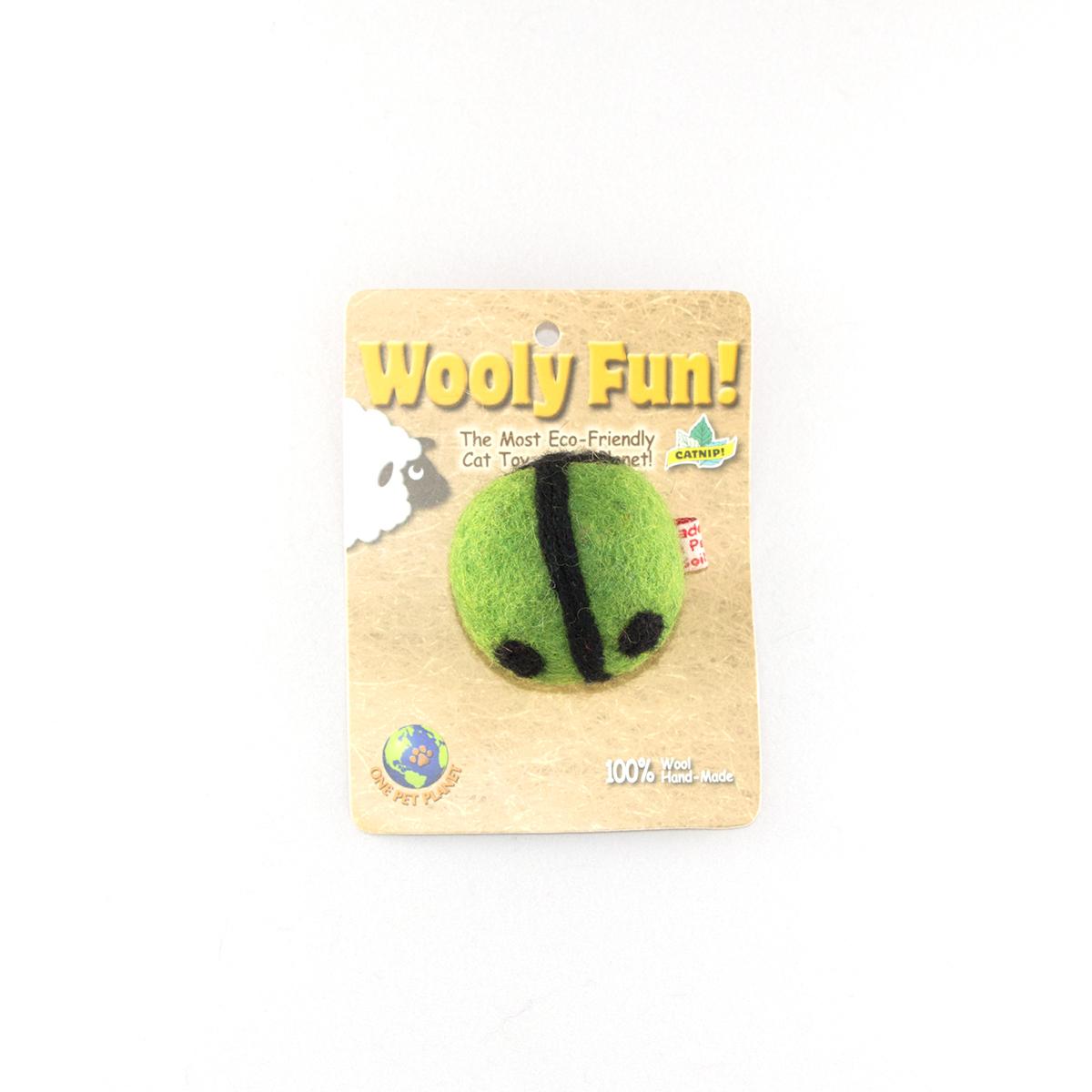 Wooly Fun Ladybug