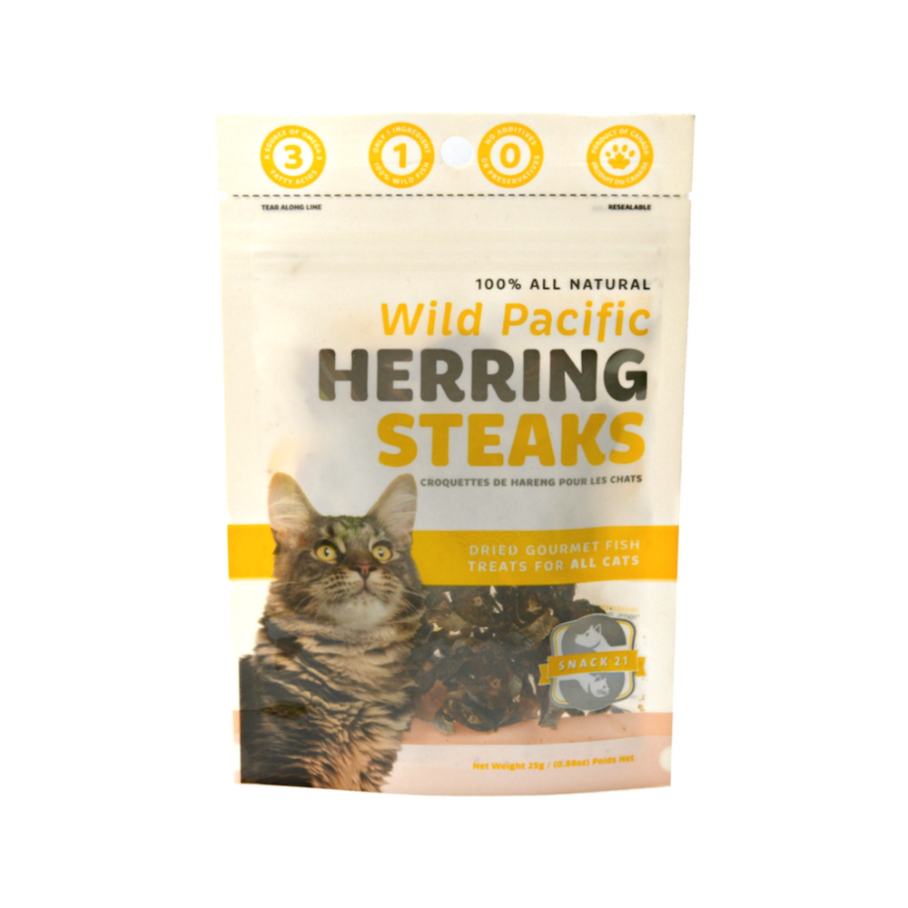 Wild Pacific Herring Steaks