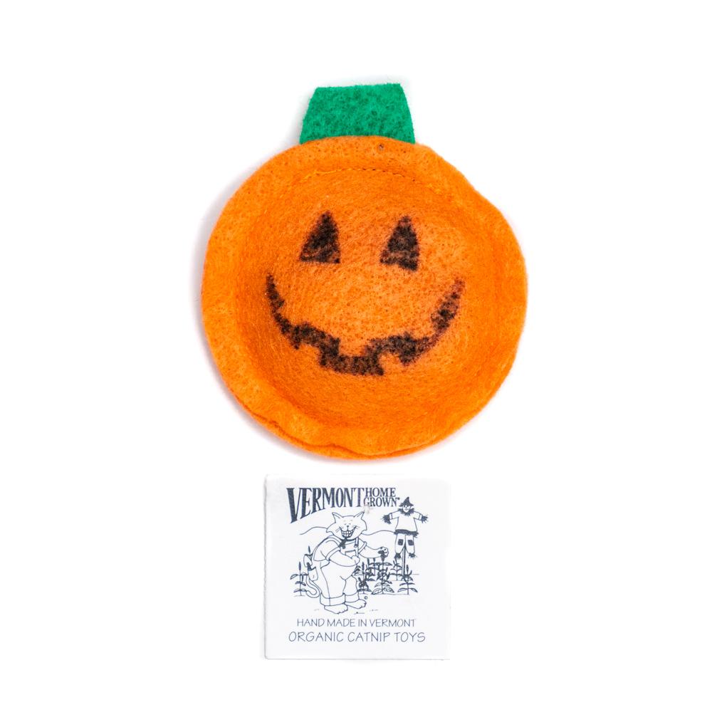 Handmade Organic Catnip Pumpkin