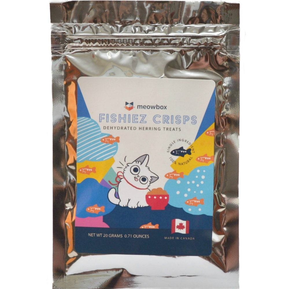 Fishiez Crisps Dehydrated Herring Treat