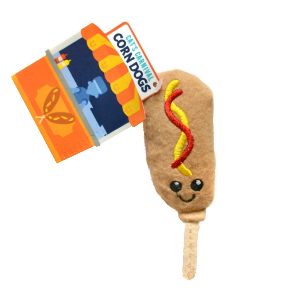 Cat's Carnival Corn Dog