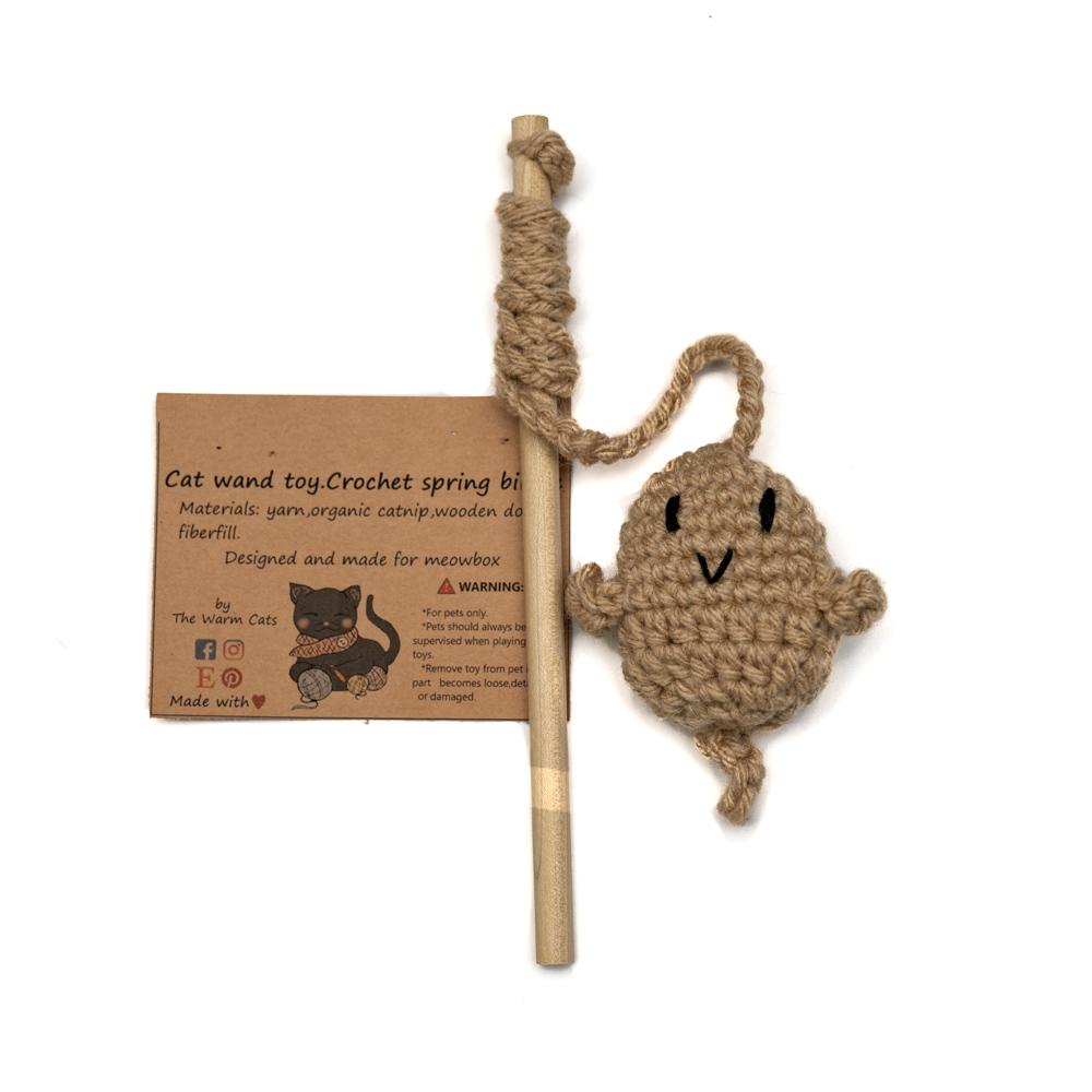 Crochet Birdie Wand