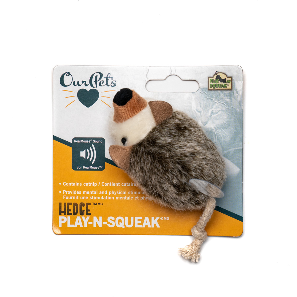 Hedgehog Play-N-Squeak