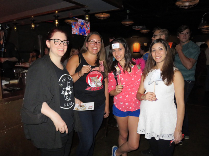 Micol (theworrycat), Catie (life_of_ziggy), Rocio (anabelleleethecat) & Heather (meow_york_kitties)