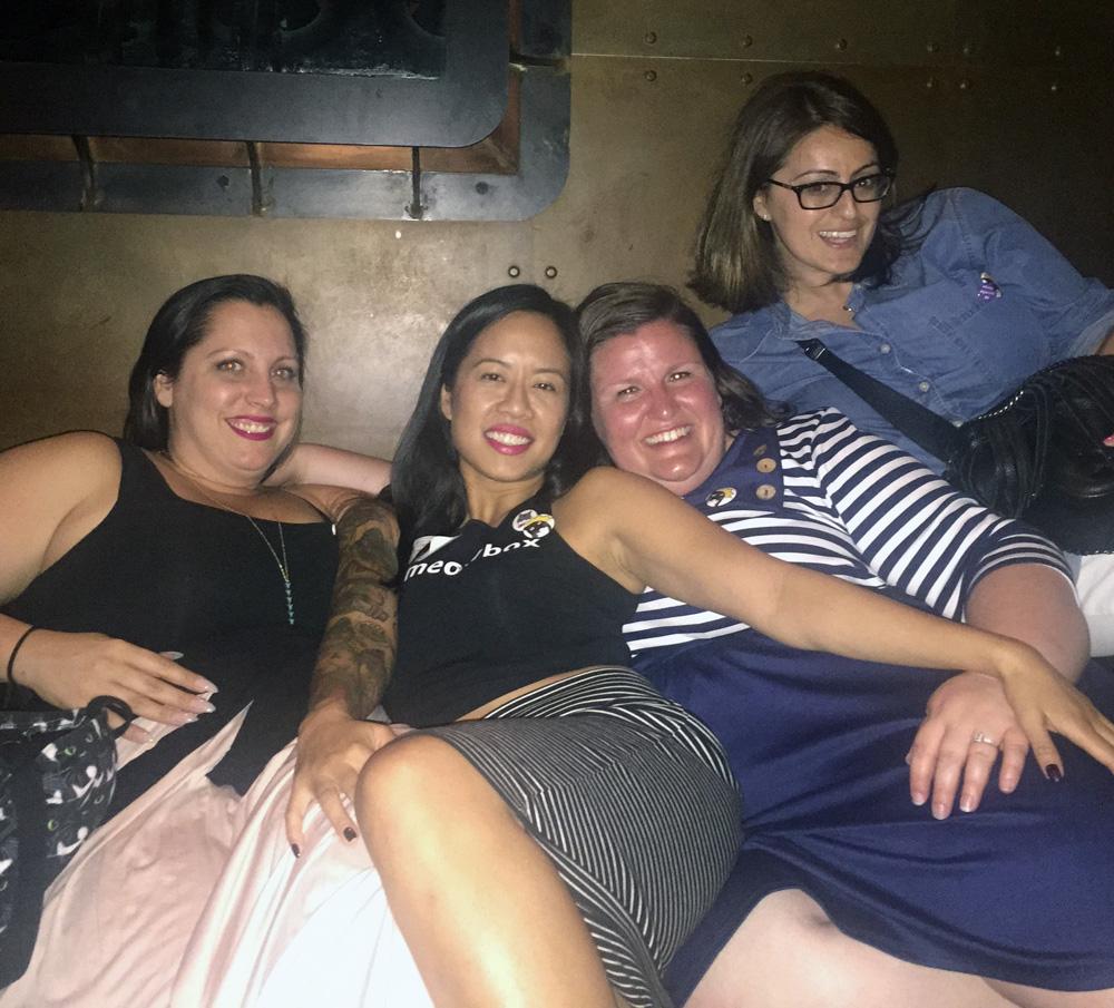 Angie (_porkchopthecat_), Me (meowbox), Me (meowbox) & Rachael (seamus_n_angus)